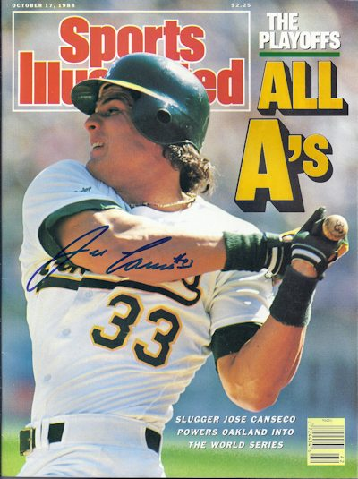 Jose Canseco 400 4