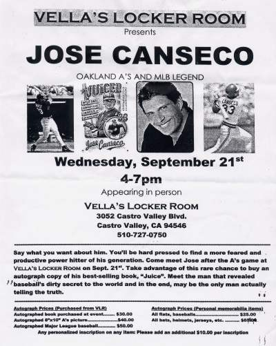 Jose canseco 400 1