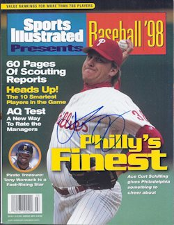 PRES Curt Schilling SIGNED