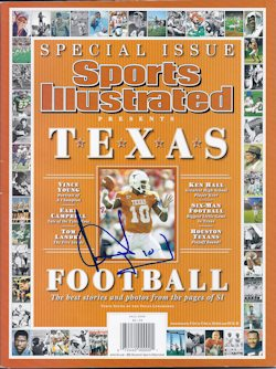 Spec 08 Texas Vince Young