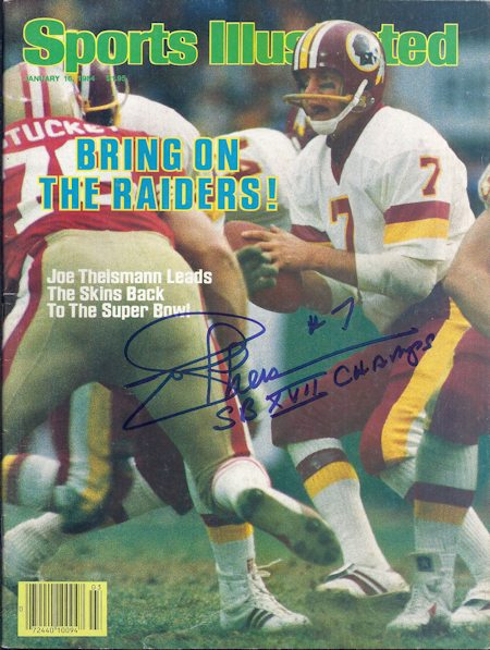 joe theismann 450